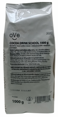 oVe COCOA DRINK SCHOOL 1000 g